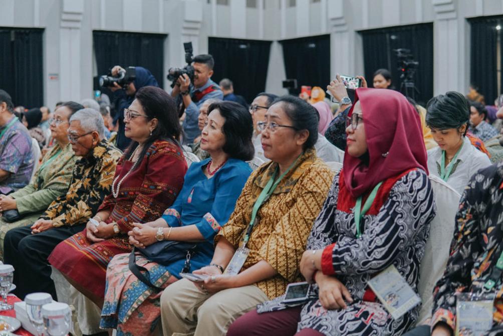 Spettatori in occasione del lancio di EAT-Lancet a Jakarta, gennaio 2019. Fonte: Eka Winarotomo.