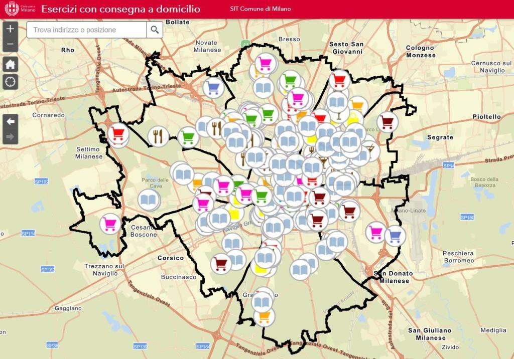 Mappa Commercio